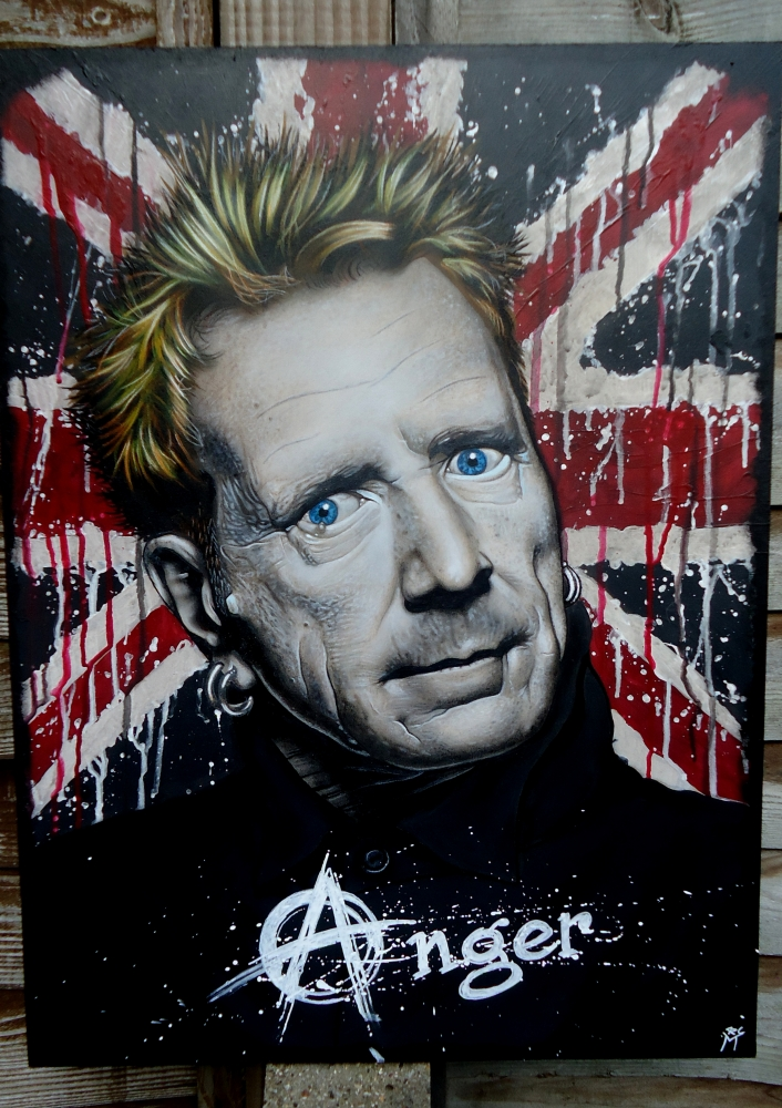 Johnny Rotten by marcart